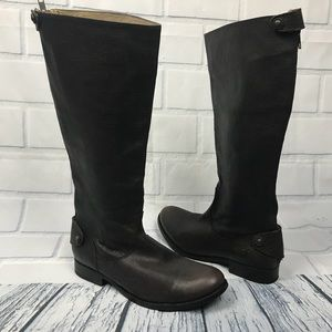 Frye Melissa Equestrian Knee High Riding Boots 7.5